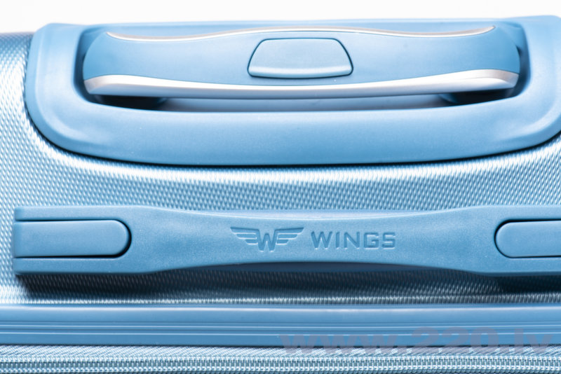 4 koferu komplekts Wings 310-4, dzeltens