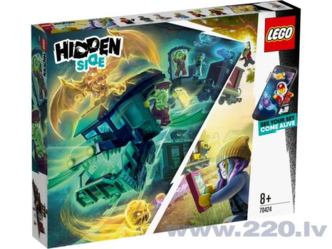 70424 Hidden Side™ LEGO® Экспресс привидений цена и информация | Конструкторы | 220.lv