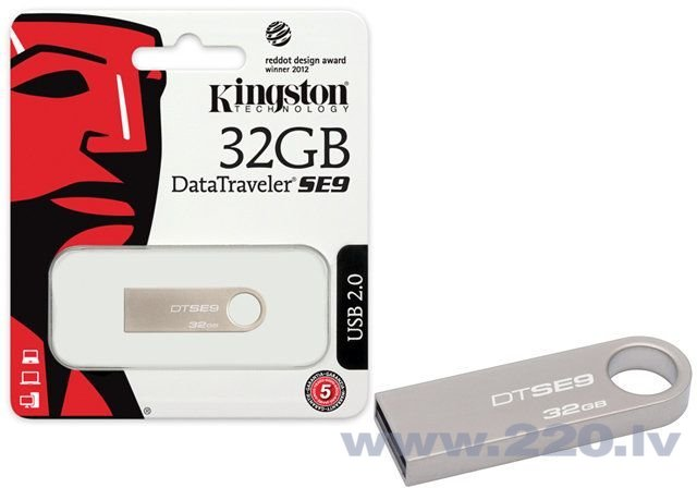 Kingston 32GB DataTraveler SE9 USB 2.0 cena