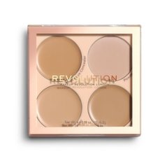 Korekcijas palete sejai Makeup Revolution London Matte Base 8,8 g