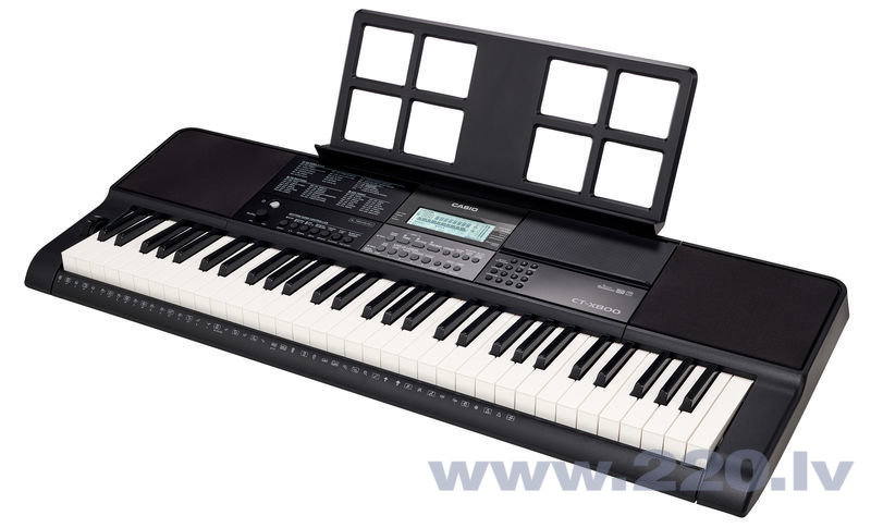 Casio sintezators CT-X800