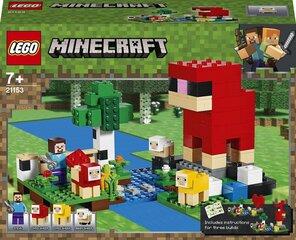 21153 LEGO® Minecraft™ Vilnas ferma cena un informācija | Konstruktori | 220.lv
