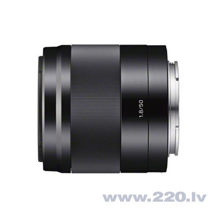 Sony E 50mm f/1.8 OSS, black