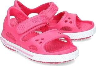 Bērnu sandales Crocs™ Crocband II Sandal, Paradise Pink/Carnation