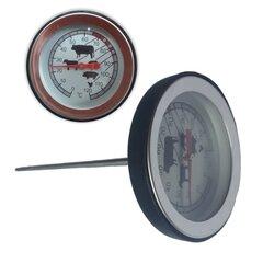Gaļas termometrs, melns