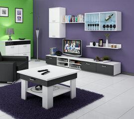 Kafijas galdiņš Omega, balts/melns