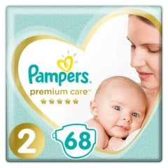 Подгузники PAMPERS Premium Care, Value Pack 2 размер, 68 шт.