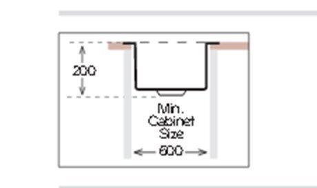Virtuves izlietne Teka LINEA 500x400 1B (bronza)