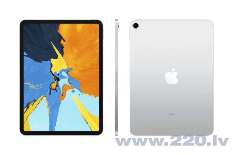 "Apple iPad Pro 11"" Wi-Fi+4G 64GB, Sudrabains, MU0U2HC/A internetā"