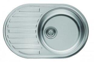 Nerūsējošā tērauda izlietne Franke PMN 611 cena un informācija | Virtuves izlietnes | 220.lv