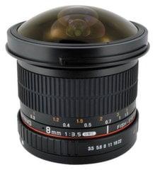 Objektīvs Samyang 8mm f/3.5 UMC Fish-Eye CS II (Nikon)