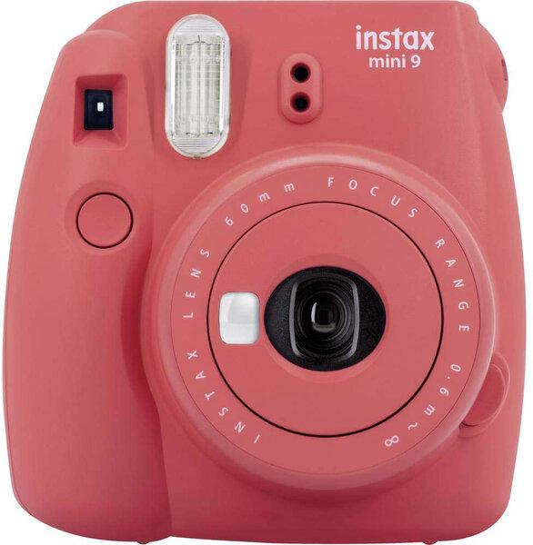 Fujifilm Instax Mini 9, Sarkans (Poppy Red) + 10 foto loksnes