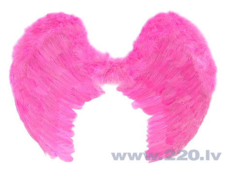 Spārni Angel's Wings, rozā, 80x60 cm, 1 paciņa/1 gab