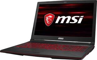 MSI GL63 8SC-028XPL 8 GB RAM/ 128 GB M.2 PCIe/ 1TB HDD/