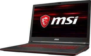 MSI GL73 8SD-233XPL 16 GB RAM/ 256 GB M.2 PCIe/ 1TB HDD/