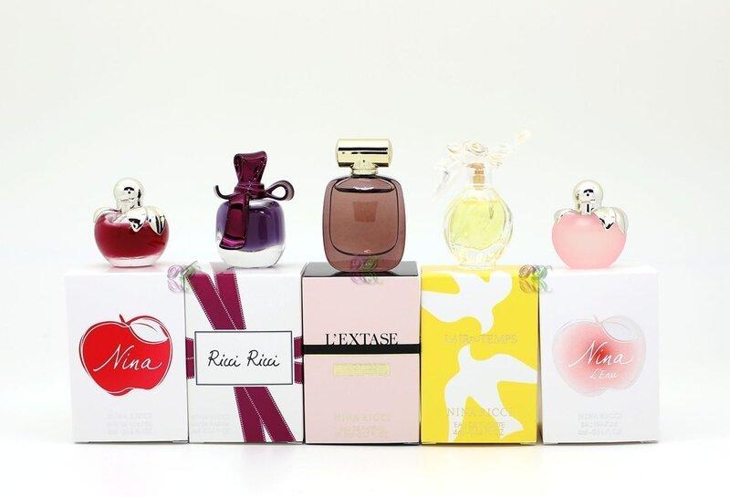 Smaržu komplekts Nina Ricci sievietēm 5 x 4 ml cena