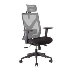 Офисный стул Home4You Mike, серый/черный