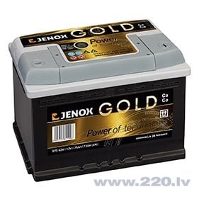 Akumulators Jenox Gold 46AH 440A