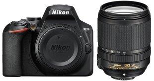 Nikon D3500 + AF-S DX 18-140 VR cena un informācija | Digitālās fotokameras | 220.lv