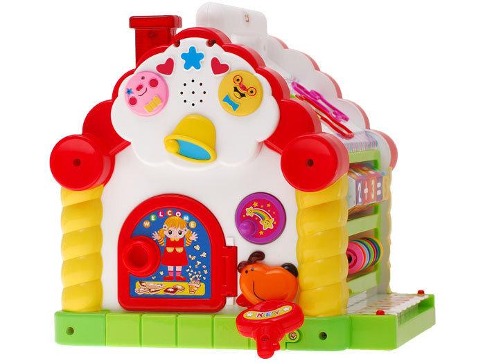 Interaktīvā izglītojošā mājiņa, Huile Toys
