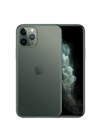 Apple iPhone 11 Pro, 64GB, Dual SIM, Zaļš (Midnight Green)