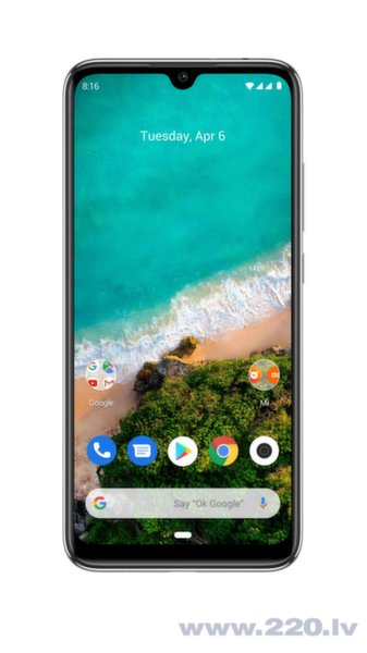 Xiaomi Mi A3, 128 GB, Dual SIM, Balts