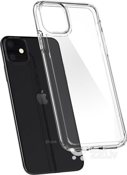 SPIGEN ULTRA HYBRID IPHONE 11 CRYSTAL CLEAR