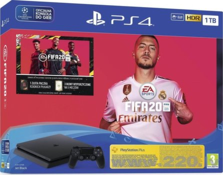 Sony Playstation 4 (PS4) Slim 1TB + FIFA 20
