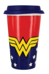 DC Comics - Wonder Woman Ceramic Travel Mug, 350мл