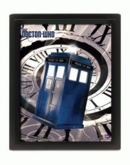 Lenticular Poster and Photo Frame: Doctor Who - Tardis Time Spiral, 25x20см