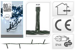 Ziemassvētku virtene, 80 LED cena un informācija | Lampiņas | 220.lv