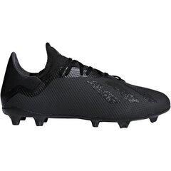 Futbola apavi Adidas Performance X 18.3 FG, melni