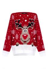 Свитер женский Reindeer Christmas Jumper, ML1963