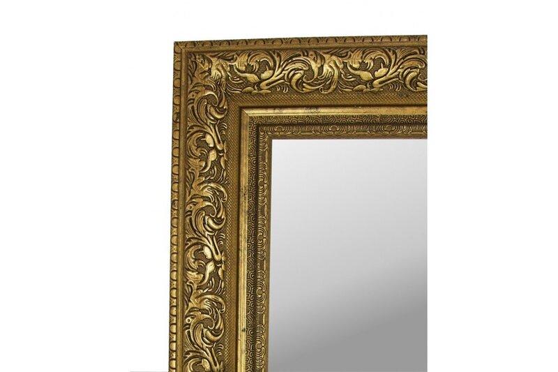 Spogulis Monza 100x70 cm, zelta krāsas