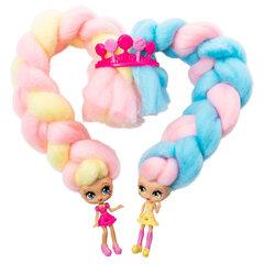 Leļļu komplekts ar aksesuāriem Candylocks 2 gab., 6052312 Rozā/dzeltens cena un informācija | Rotaļlietas meitenēm | 220.lv