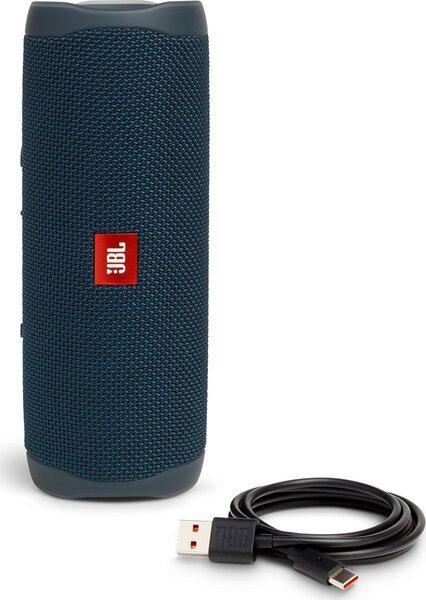 JBL Flip 5, zils lētāk
