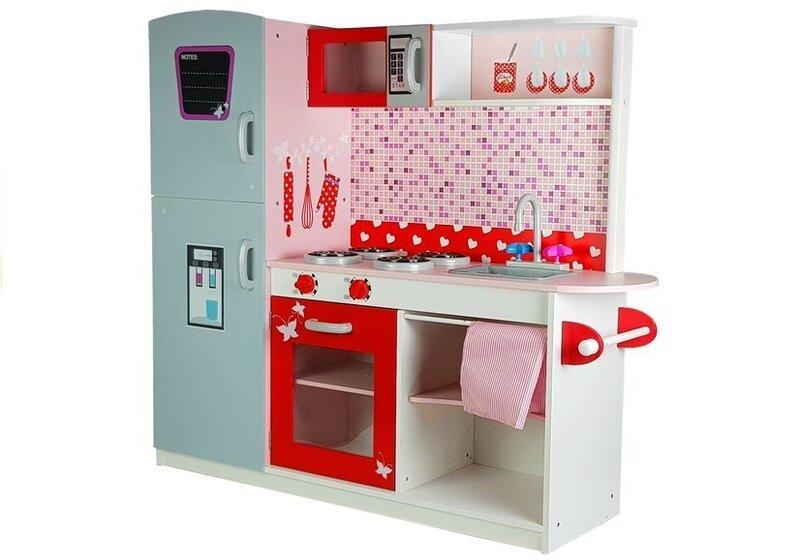 Liela koka virtuve ar ledusskapi XXXL Joli