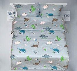 Bērnu gultas veļas komplekts, 3 daļas, audekls cena un informācija | Bērnu gultas veļa | 220.lv