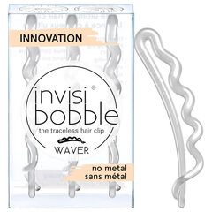 Заколка для волос Invisibobble Waver 3шт, белая