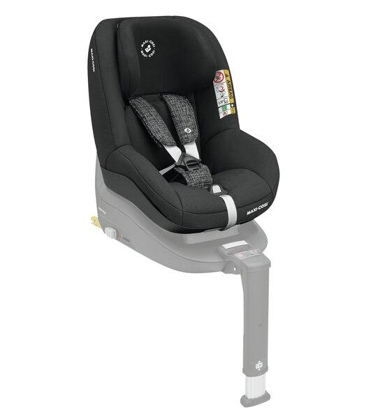 Maxi Cosi autokrēsliņš Pearl Smart i-Size, 0-18,5 kg, Black grid cena