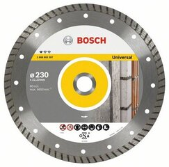 Dimanta disks Bosch Standard for Universal Turbo 230x22x2,5mm cena un informācija | Dimanta disks Bosch Standard for Universal Turbo 230x22x2,5mm | 220.lv
