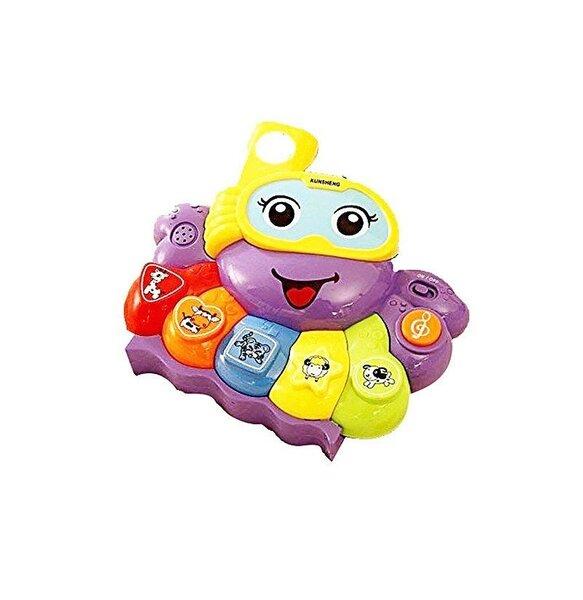 Rotaļlietu klavieres - astoņkājis