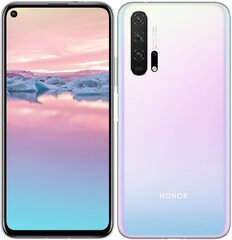 Honor 20 Pro, 8/256GB, Dual Sim, Balts (Icelandic Frost)