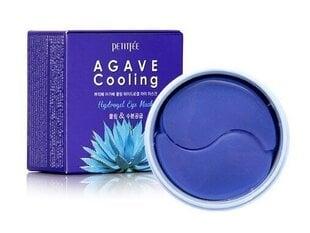 Spilventiņi ādai ap acīm Petitfee Agave Cooling Hydrogel Eye Mask 60 gab. cena un informācija | Sejas kopšana | 220.lv