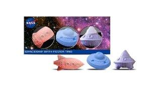 Vannas bumbiņu komplekts bērniem Nasa 3 x 90 g