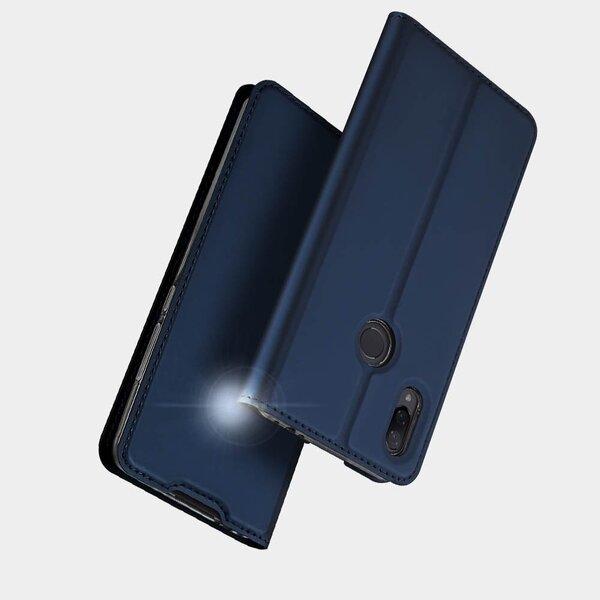 DUX DUCIS Skin Pro Atveramais maciņš telefonam Xiaomi Redmi Note 7, Zils