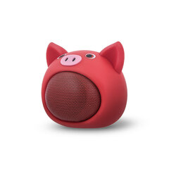 Bluetooth Speaker Forever Sweet Animal Pig Rose ABS-100 цена и информация | Колонки | 220.lv