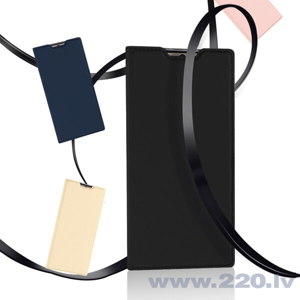 DUX DUCIS Skin Pro Atveramais maciņš telefonam Samsung Galaxy Note 10, Zelta