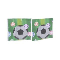 Papīra salvetes Futbols, 16 gab. cena un informācija | Vienreizējie trauki | 220.lv