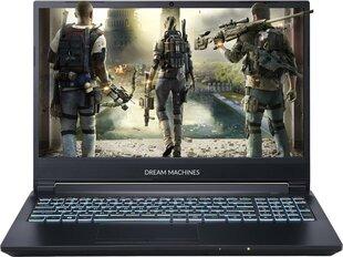 Dream Machines G1660Ti-15PL40 16 GB RAM/ 512 GB M.2 PCIe/ 480 GB SSD/ Windows 10 Home cena un informācija | Portatīvie datori | 220.lv